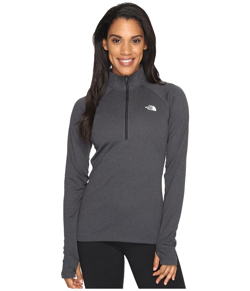The North Face - Impulse Active 1/4 Zip (TNF Dark Grey Heather (Prior Season)) Women's Workout