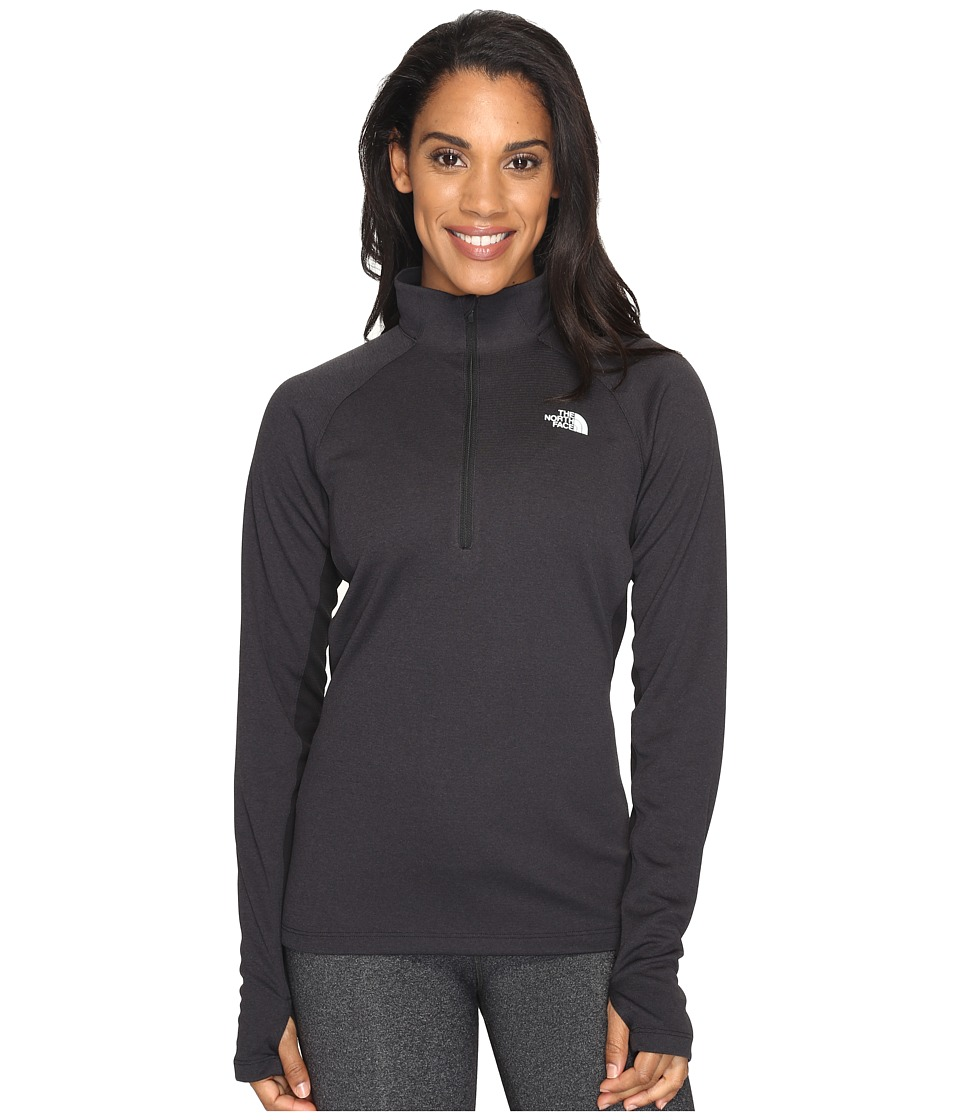 The North Face - Impulse Active 1/4 Zip (TNF Black (Prior Season)) Women's Workout