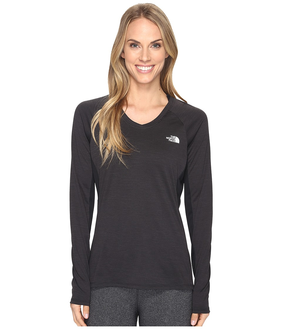 The North Face - Initiative Long Sleeve Shirt (TNF Black (Prior Season)) Women's Long Sleeve Pullover