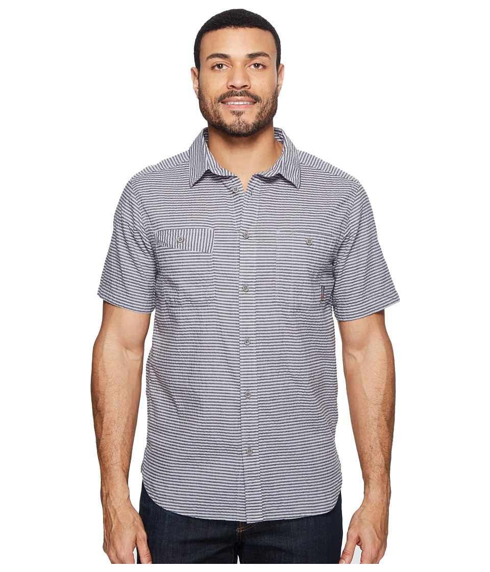 Mountain Hardwear - Great Basin Short Sleeve Shirt (Shark) Men's Short Sleeve Button Up