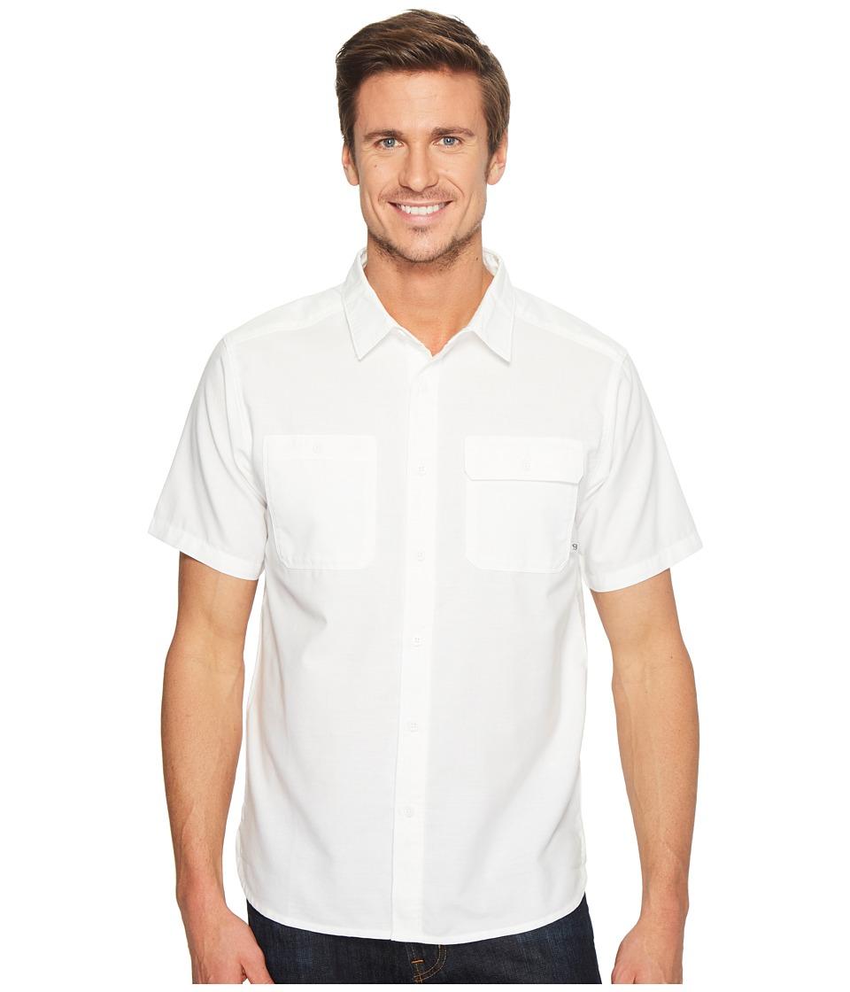 Mountain Hardwear - Drummondtm Utility S/S Shirt (White) Men's Short Sleeve Button Up