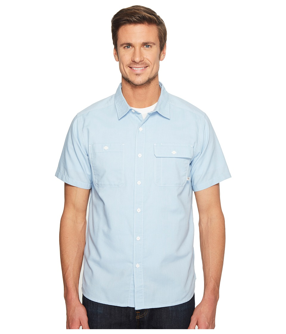 Mountain Hardwear - Drummondtm Utility S/S Shirt (Grey Goose) Men's Short Sleeve Button Up