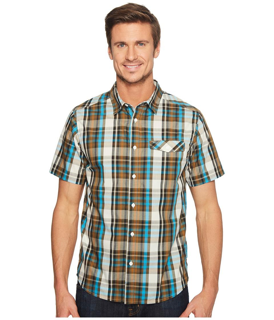 Mountain Hardwear - Farthingtm S/S Shirt (Peatmoss) Men's Short Sleeve Button Up