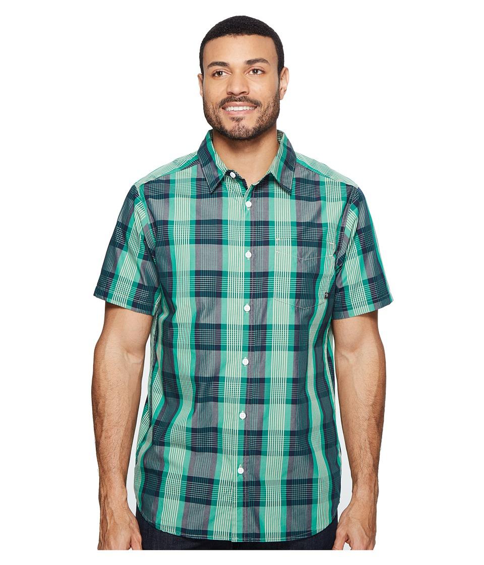 Mountain Hardwear - Sutton Short Sleeve Shirt (Plastic Fern) Men's Short Sleeve Button Up
