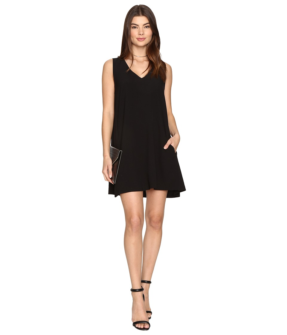 BB Dakota Hall Shift Dress (Black) Women