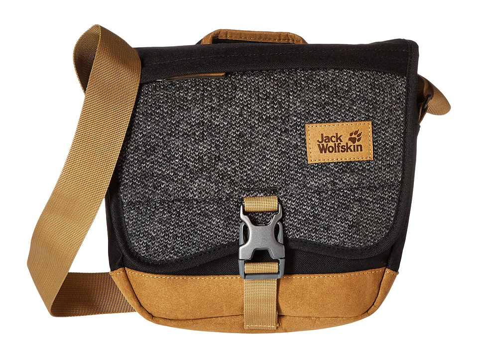 Jack Wolfskin - Woolave (Black) Handbags
