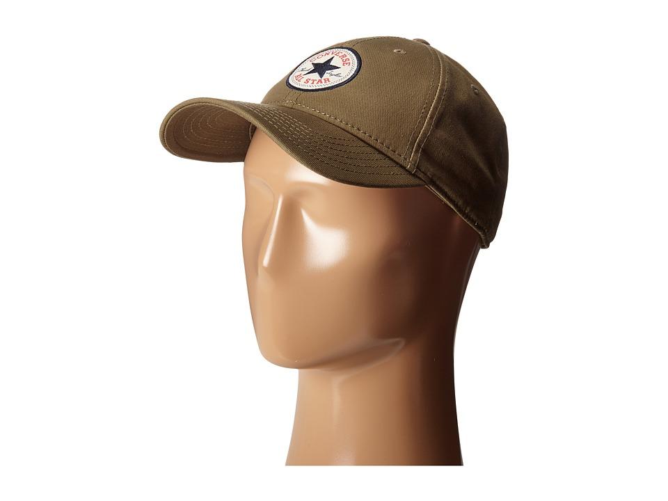 Converse - Core Classic Twill Curved Baseball Cap (Jute) Baseball Caps