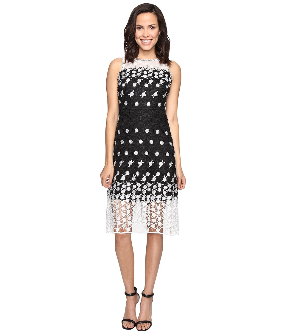 rsvp - Hontaki Dress (Black/Ivory) Women's Dress