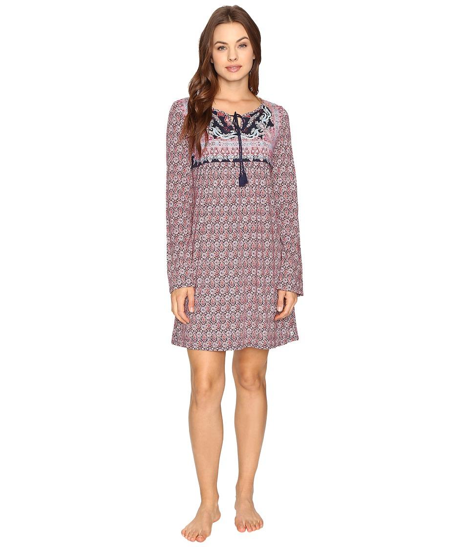 Lucky Brand - Bandana Sleepshirt (Navy Silverlake Bandana) Women's Pajama