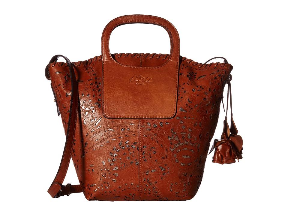 Patricia Nash - Vilani Tote - Satchel (Tan) Satchel Handbags