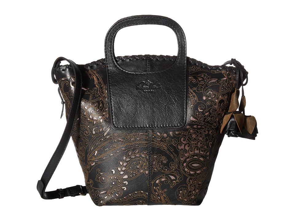 Patricia Nash - Vilani Tote - Satchel (Black) Satchel Handbags