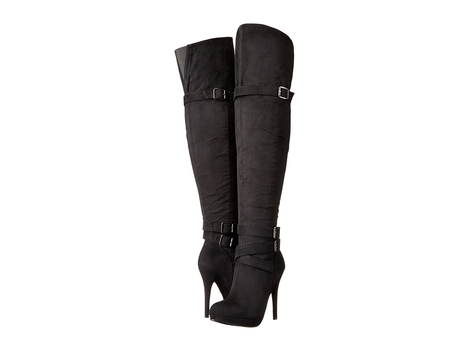 Michael Antonio - Hark - Velvet (Black) Women's Pull-on Boots