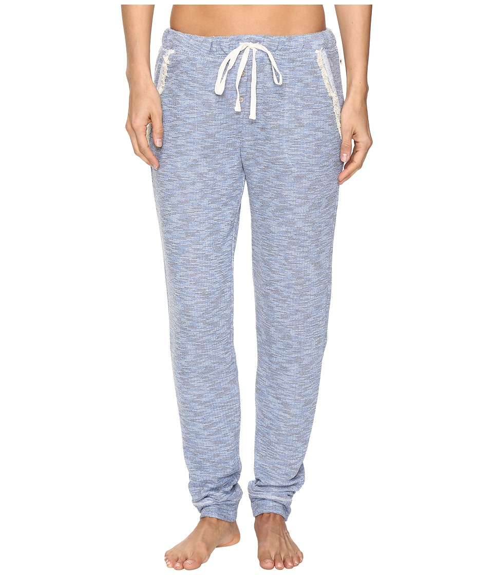 Lucky Brand - Fringe Lounge Pants (Washed Denim Blue) Women's Pajama