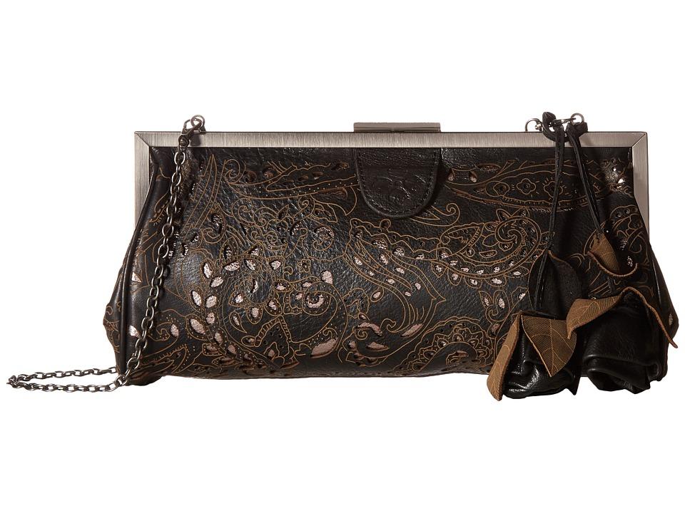 Patricia Nash - Athena Frame (Black) Frame Handbags