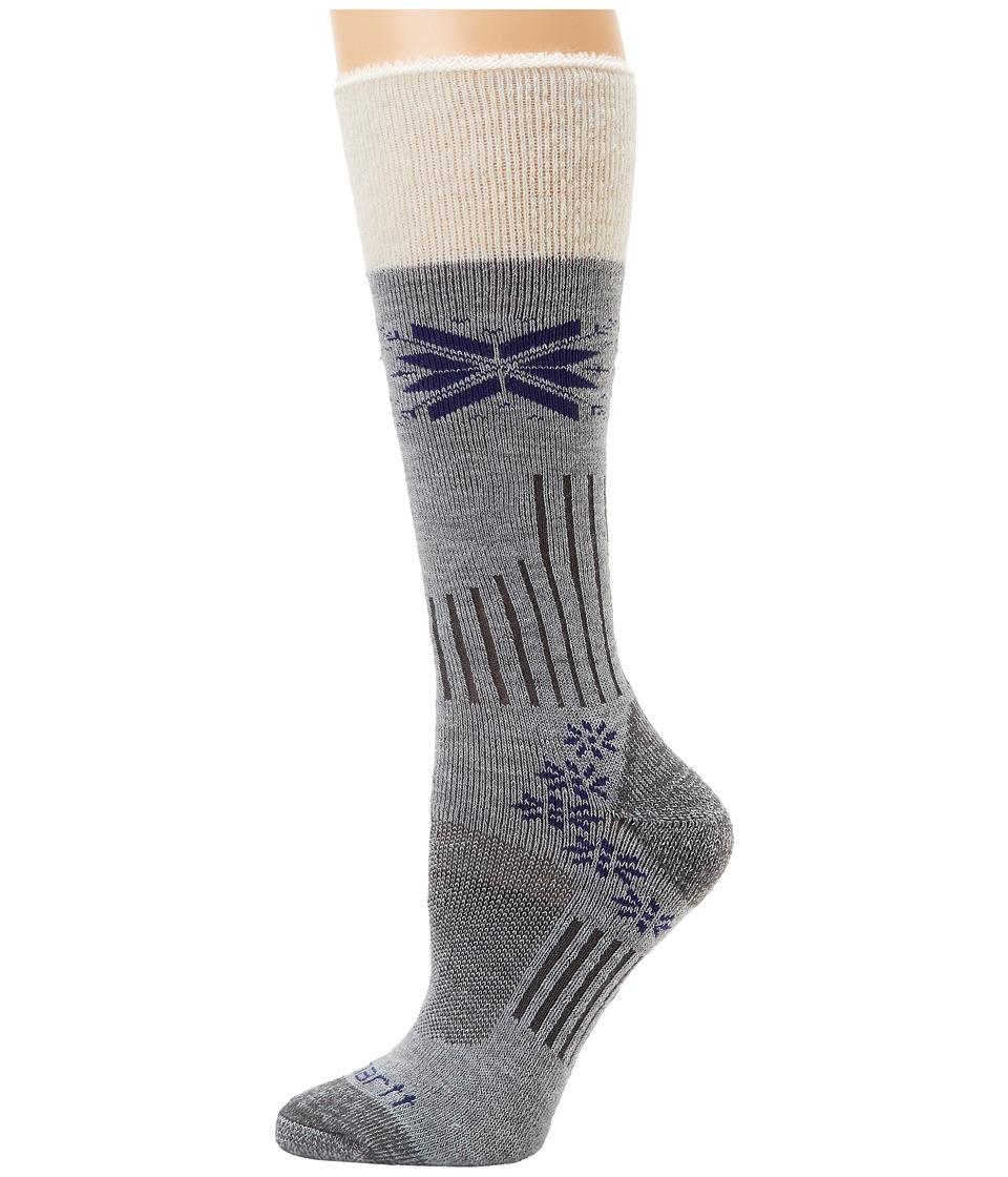 Carhartt - Sherpa Cuff Graduated Compression Boot (Heather Gray) Women's Crew Cut Socks Shoes