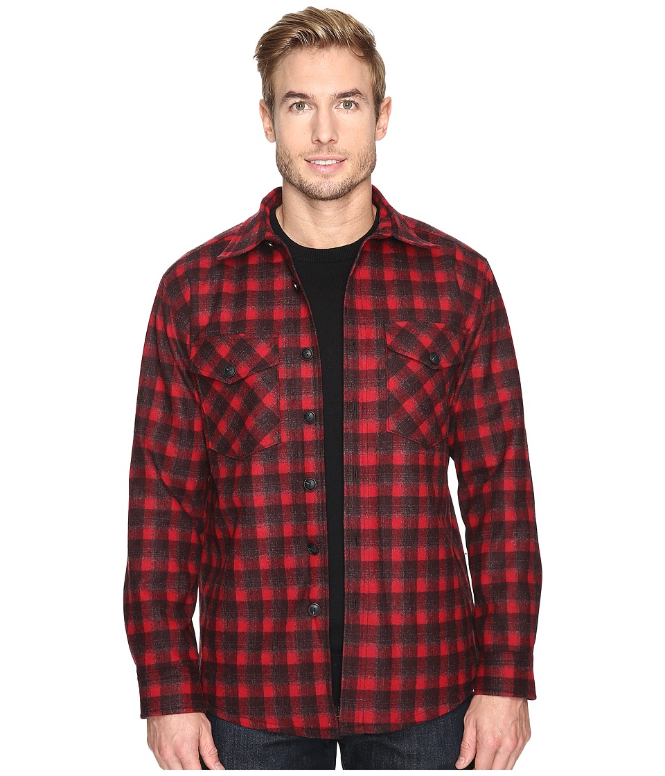 Pendleton - Quilted Shirt Jacket (Red Plaid) Men's Coat