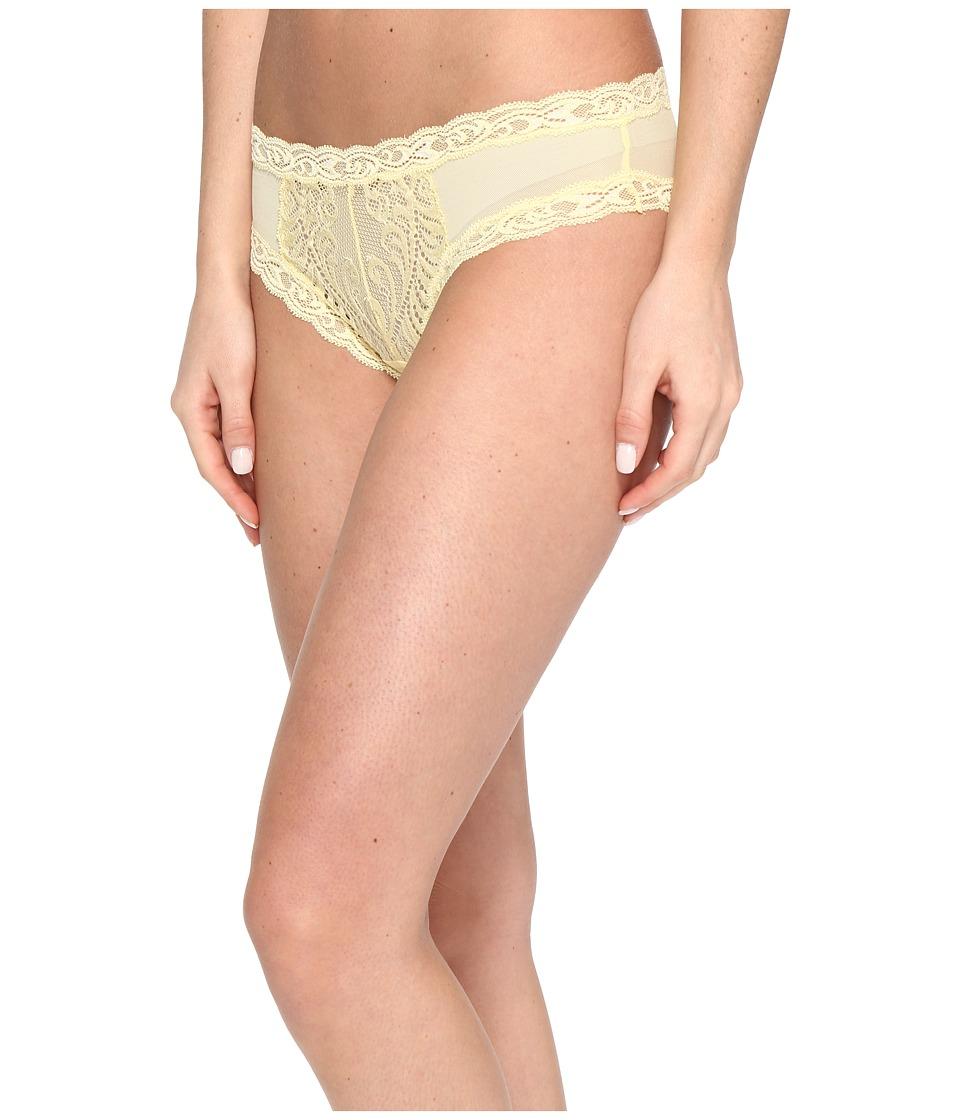 Natori - Feathers Hipster (Pale Banana) Women's Underwear