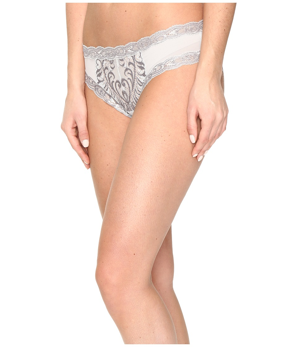 Natori - Feathers Hipster (Mink/Sleet Shine) Women's Underwear