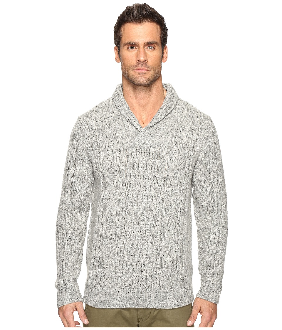 Pendleton Donegal Pullover Sweater (Ash Grey) Men