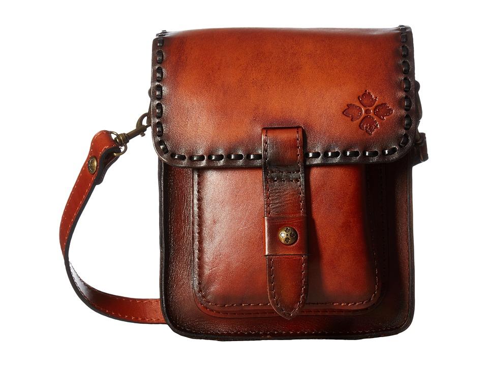 Patricia Nash - Lari Flap Crossbody (Tan) Cross Body Handbags