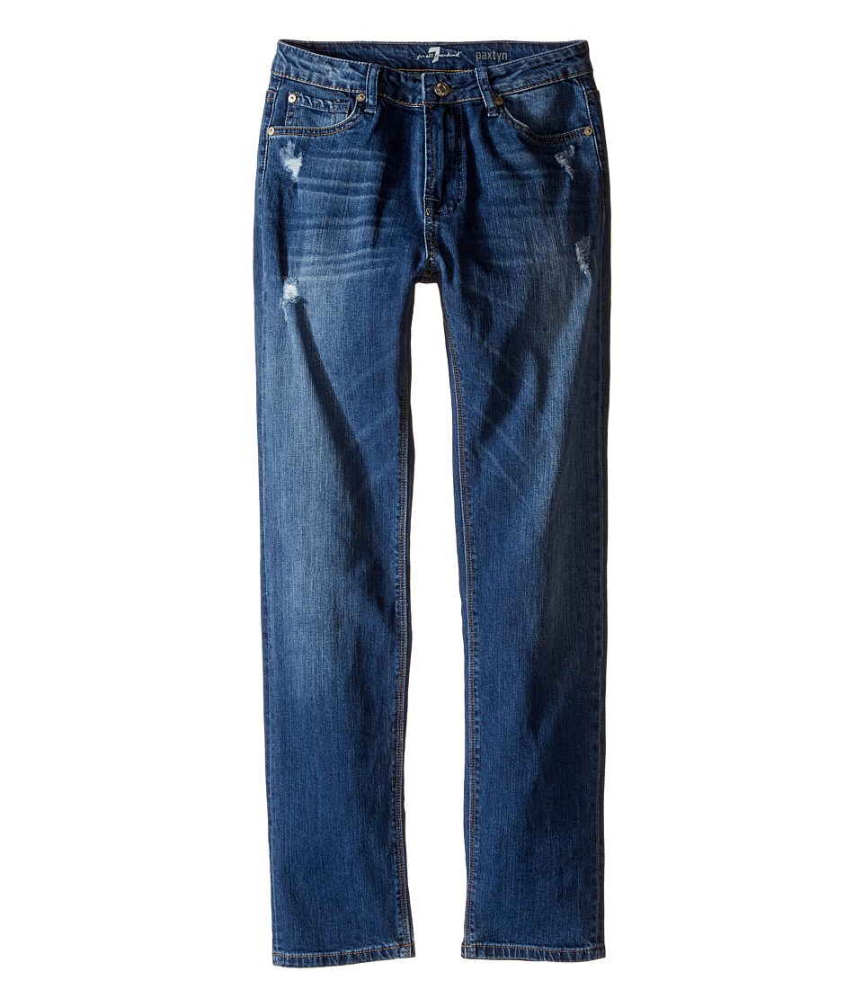 7 For All Mankind Kids - Paxtyn Denim Jeans in Snorkel Blue (Big Kids) (Snorkel Blue) Boy's Jeans