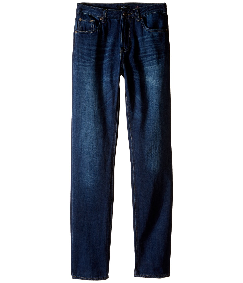 7 For All Mankind Kids - Slimmy Slim Straight Foolproof Jeans in Commotion (Big Kids) (Commotion) Boy's Jeans