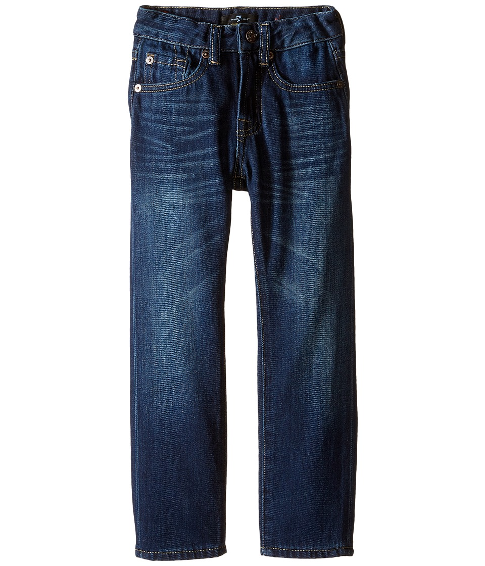 7 For All Mankind Kids - Slimmy Slim Straight Foolproof Jeans in Commotion (Little Kids/Big Kids) (Commotion) Boy's Jeans