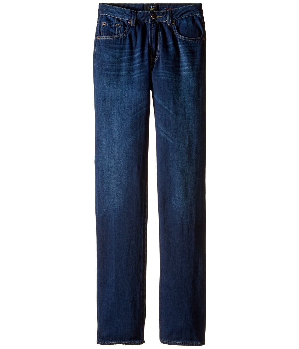 7 For All Mankind Kids - Slimmy Slim Straight Foolproof Jeans in the Fastlane in Eastern Light (Big Kids) (Eastern Light) Boy's Jeans