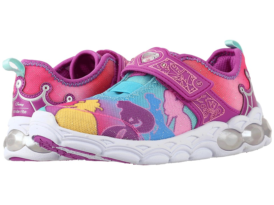 Stride Rite - Disney Princesses Unite (Toddler/Little Kid) (Rainbow) Girl's Shoes