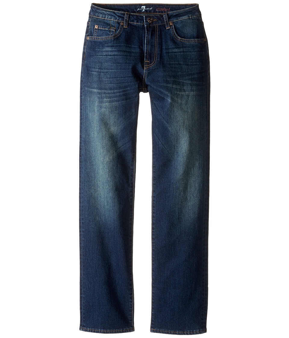 7 For All Mankind Kids - Standard Straight Leg Denim Jeans in Aged Authentic (Big Kids) (Aged Authentic) Boy's Jeans