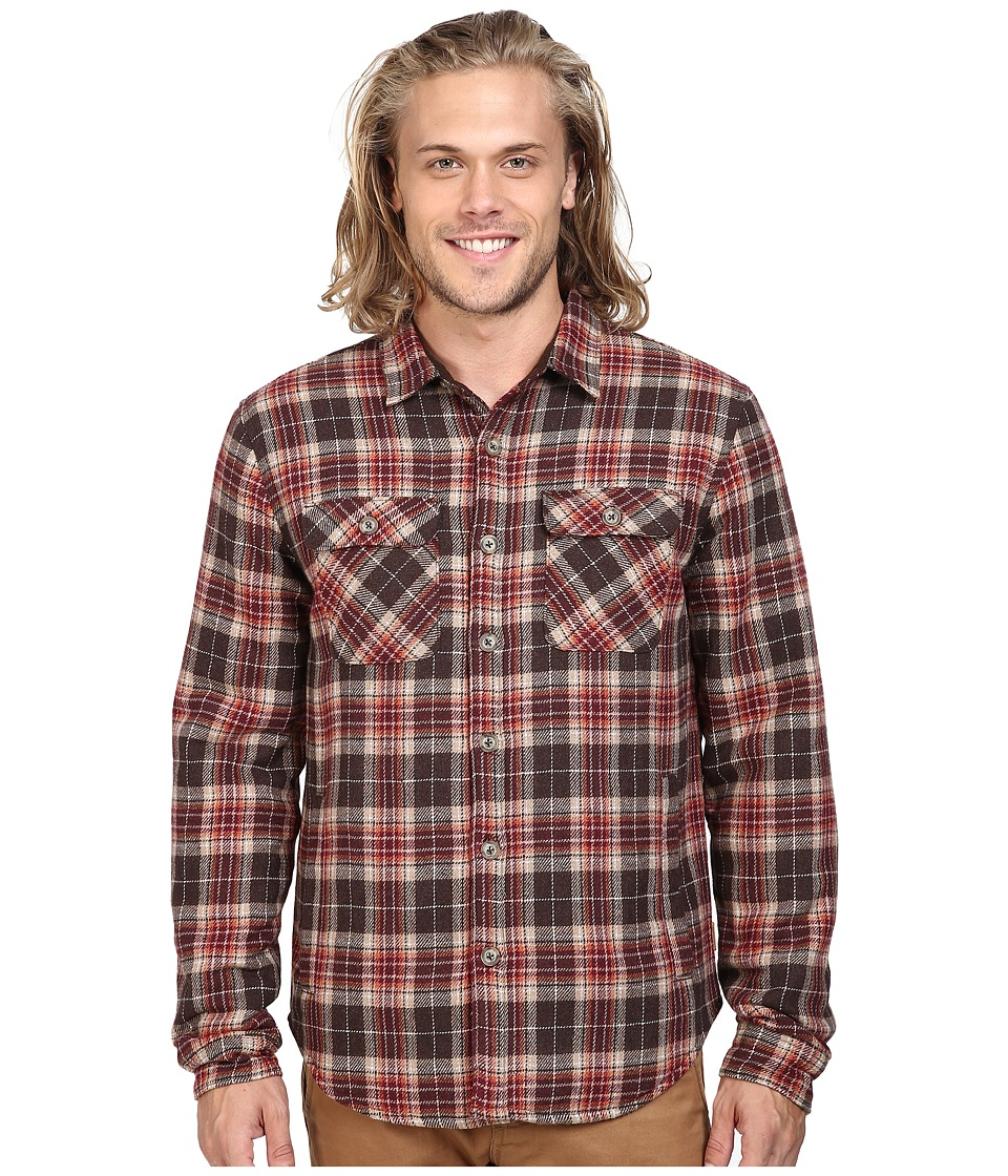 Roark - Chief Flannel By Jamie Thomas (Brown) Men's Coat