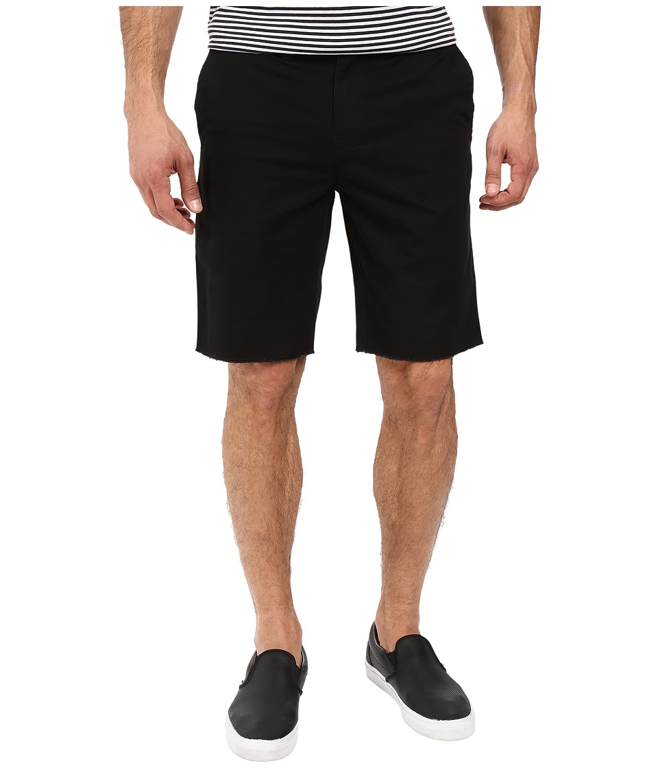Roark - Porter Five-Pocket Chino Shorts (Black) Men's Shorts