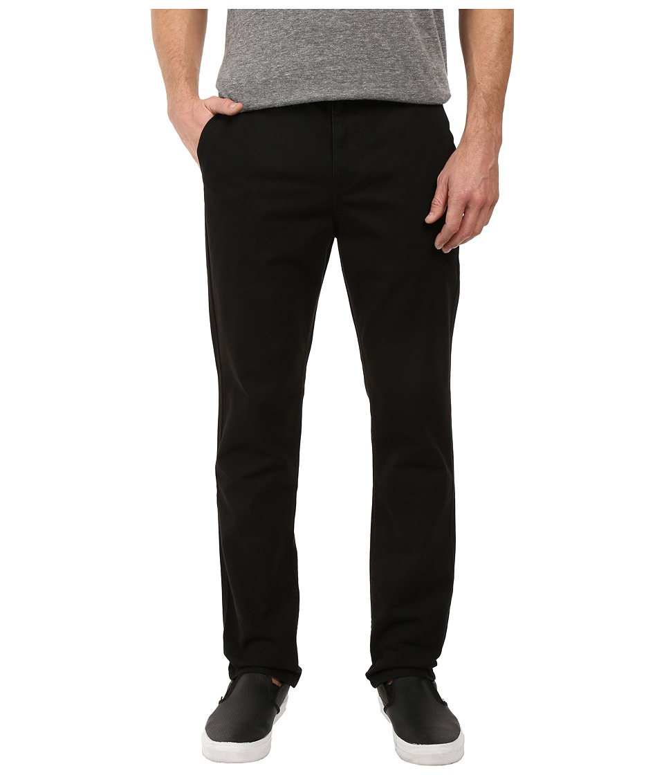 Roark - Porter Five-Pocket Chino Pants (Black) Men's Casual Pants