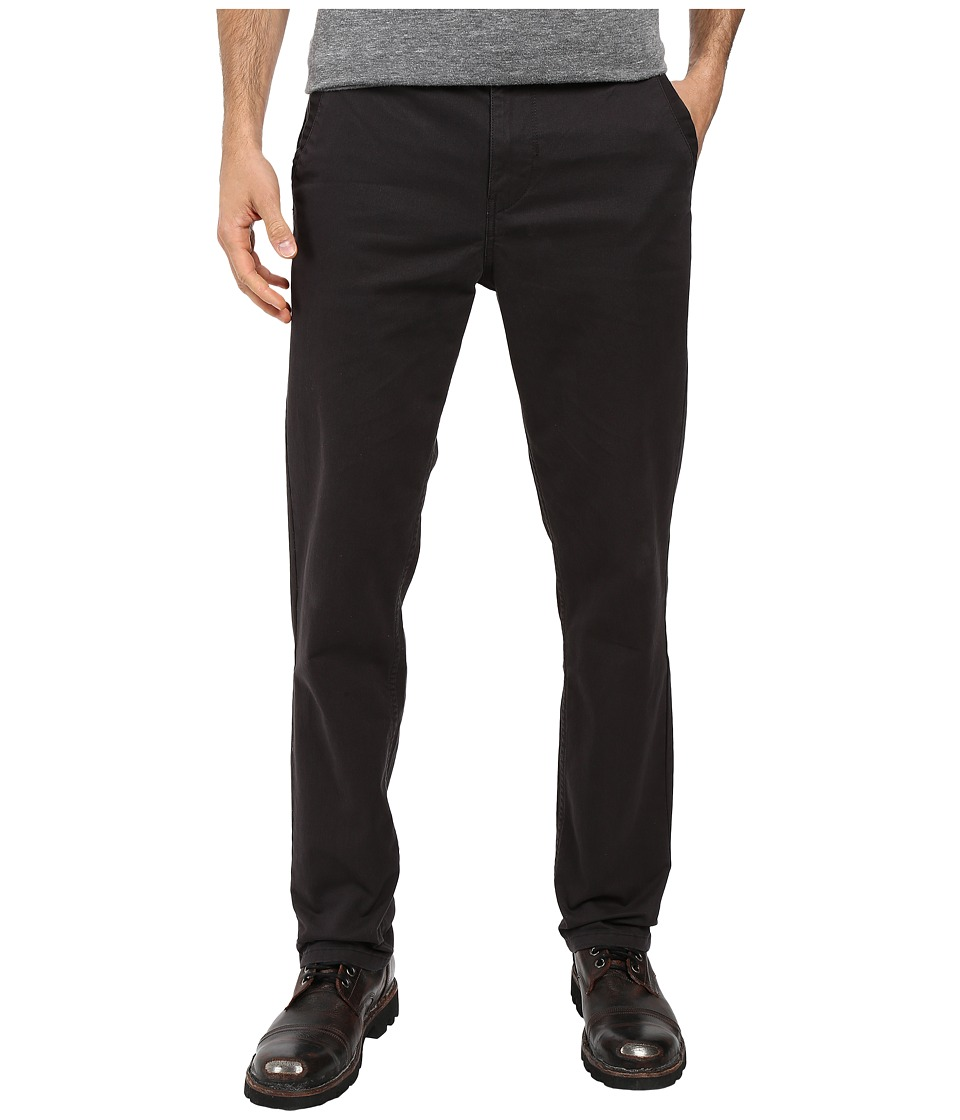 Roark - Porter Five-Pocket Chino Pants (Charcoal) Men's Casual Pants