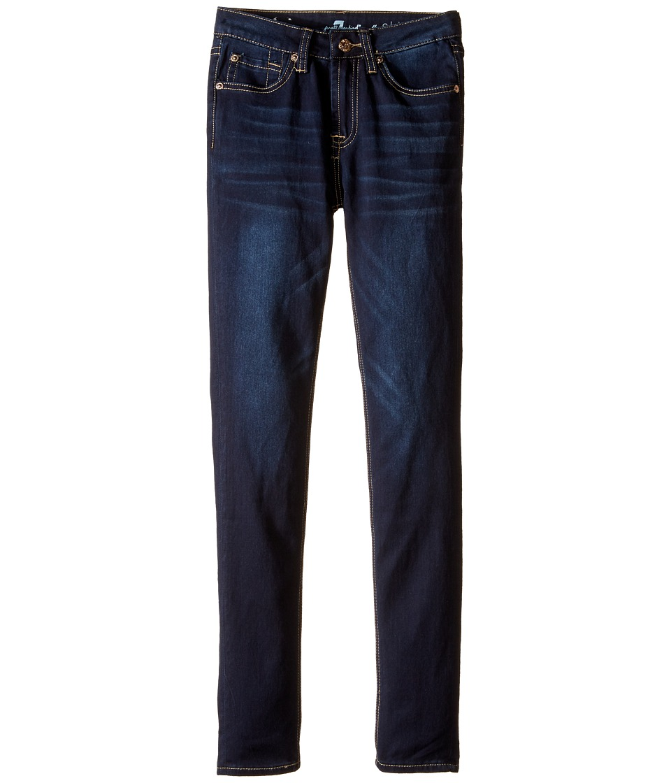 7 For All Mankind Kids - The Skinny Stretch Denim Jeans in Tired and True (Big Kids) (Tired and True) Girl's Jeans