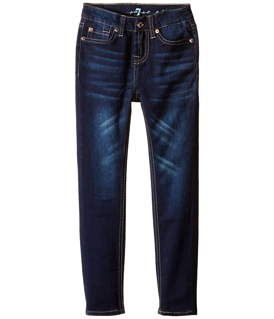 7 For All Mankind Kids - The Skinny Stretch Denim Jeans in Tried and True (Little Kids) (Tired and True) Girl's Jeans