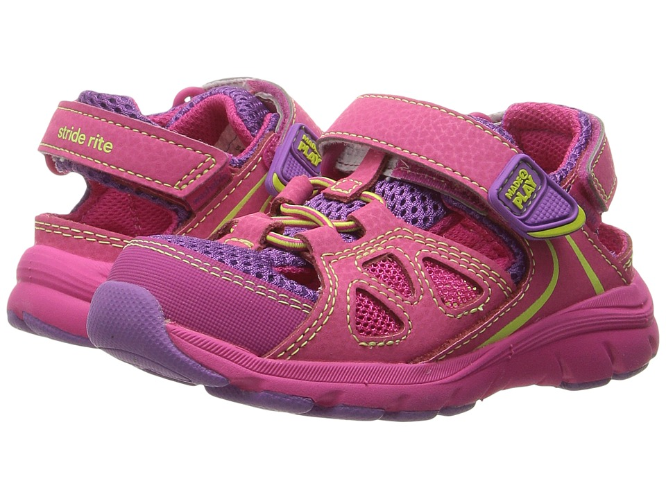 Stride Rite - Made 2 Play Scout (Toddler/Little Kid) (Pink) Girl's Shoes