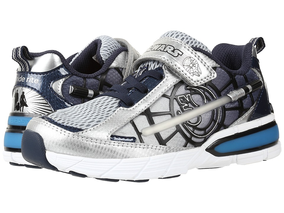 Stride Rite - Star Wars Hyperdrive Heroes Lightsaber (Toddler/Little Kid) (Silver/Navy) Boy's Shoes