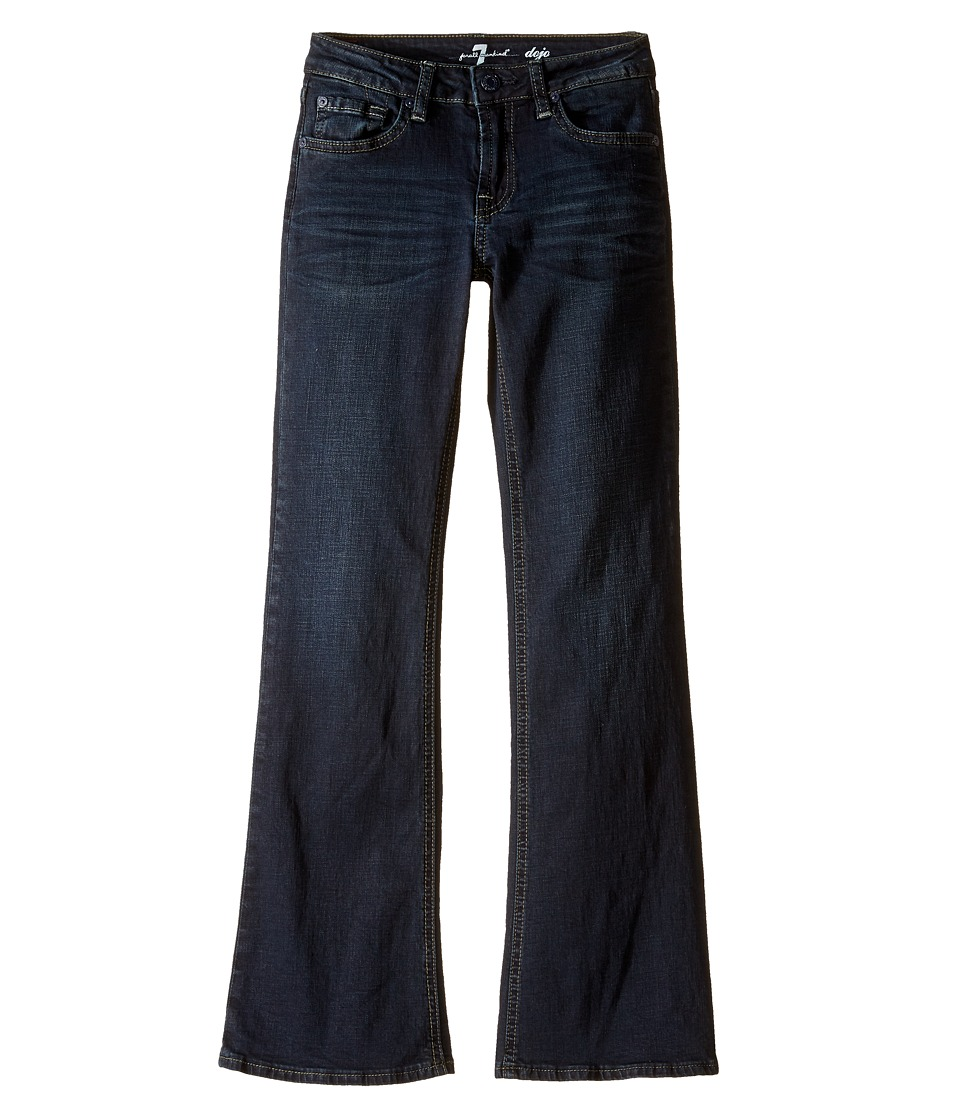 7 For All Mankind Kids - The Dojo Stretch Denim Trouser Flare Jeans in Undisputed (Big Kids) (Undisputed) Girl's Jeans