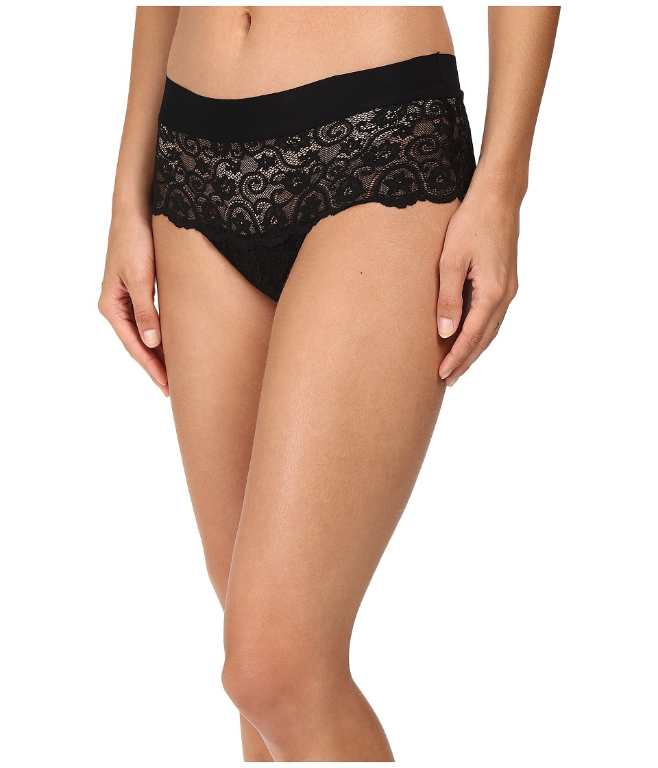 Commando - Double Take Hipster Thong LT21 (Black) Women's Underwear