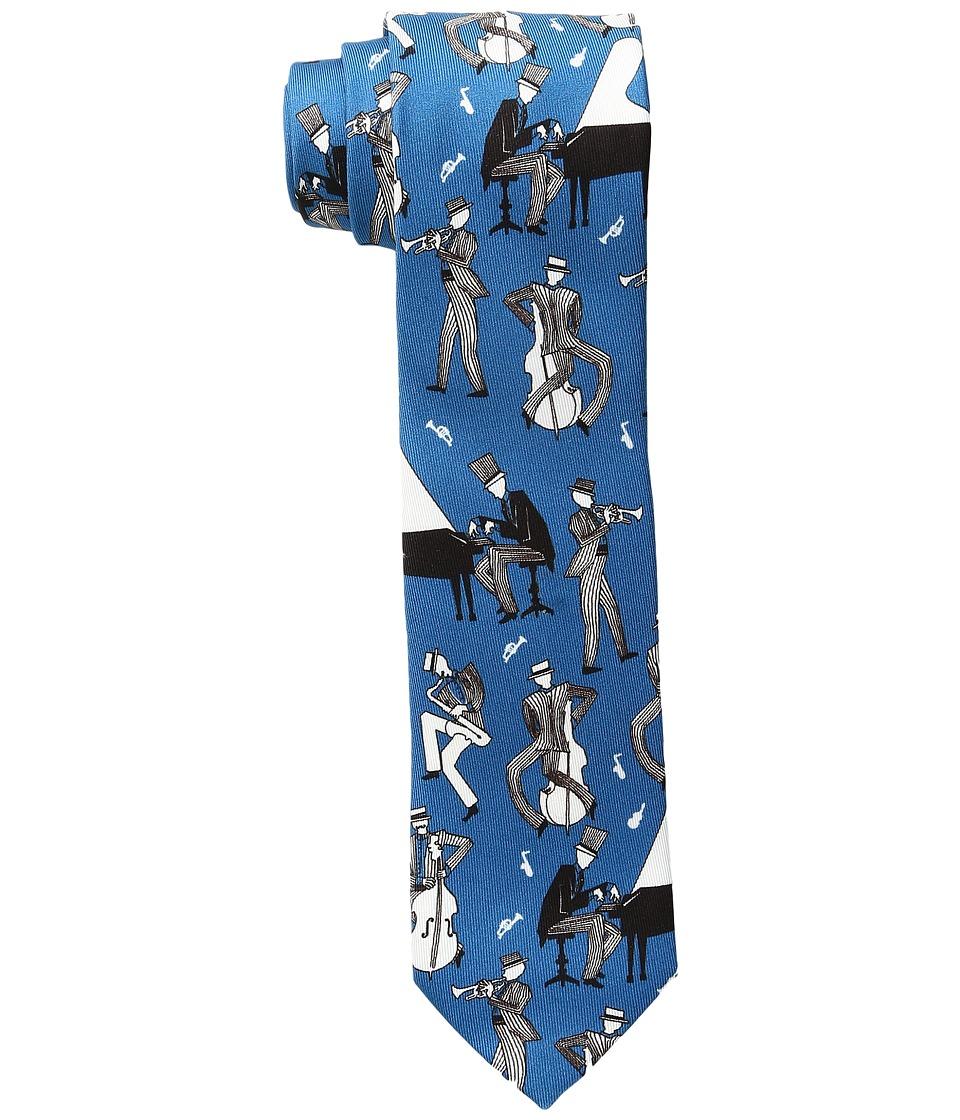Dolce & Gabbana - Circle Grid Print Tie (Black) Ties
