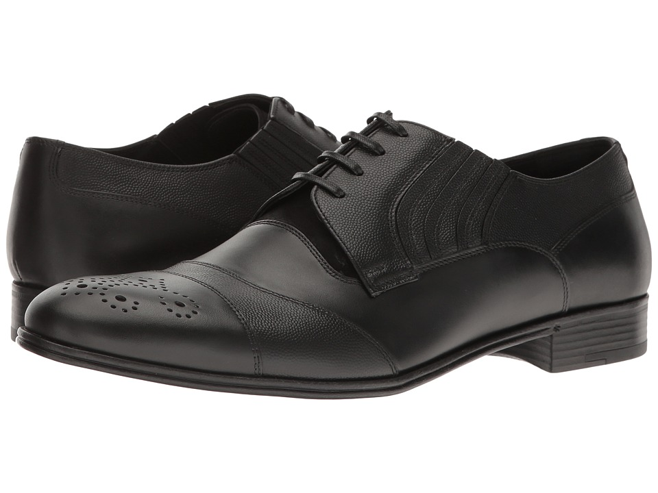 Dolce & Gabbana - Captoe Oxford (Black) Men's Lace up casual Shoes