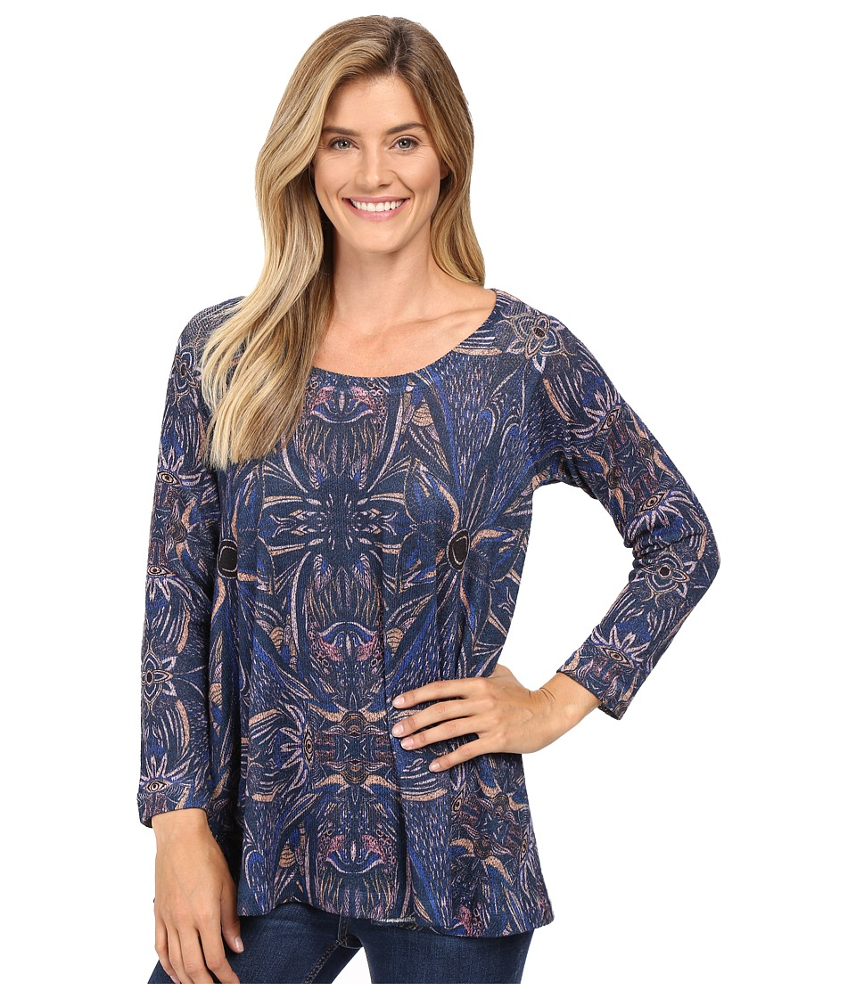 Nally & Millie - Aztec Print Tunic (Multi) Women's Clothing