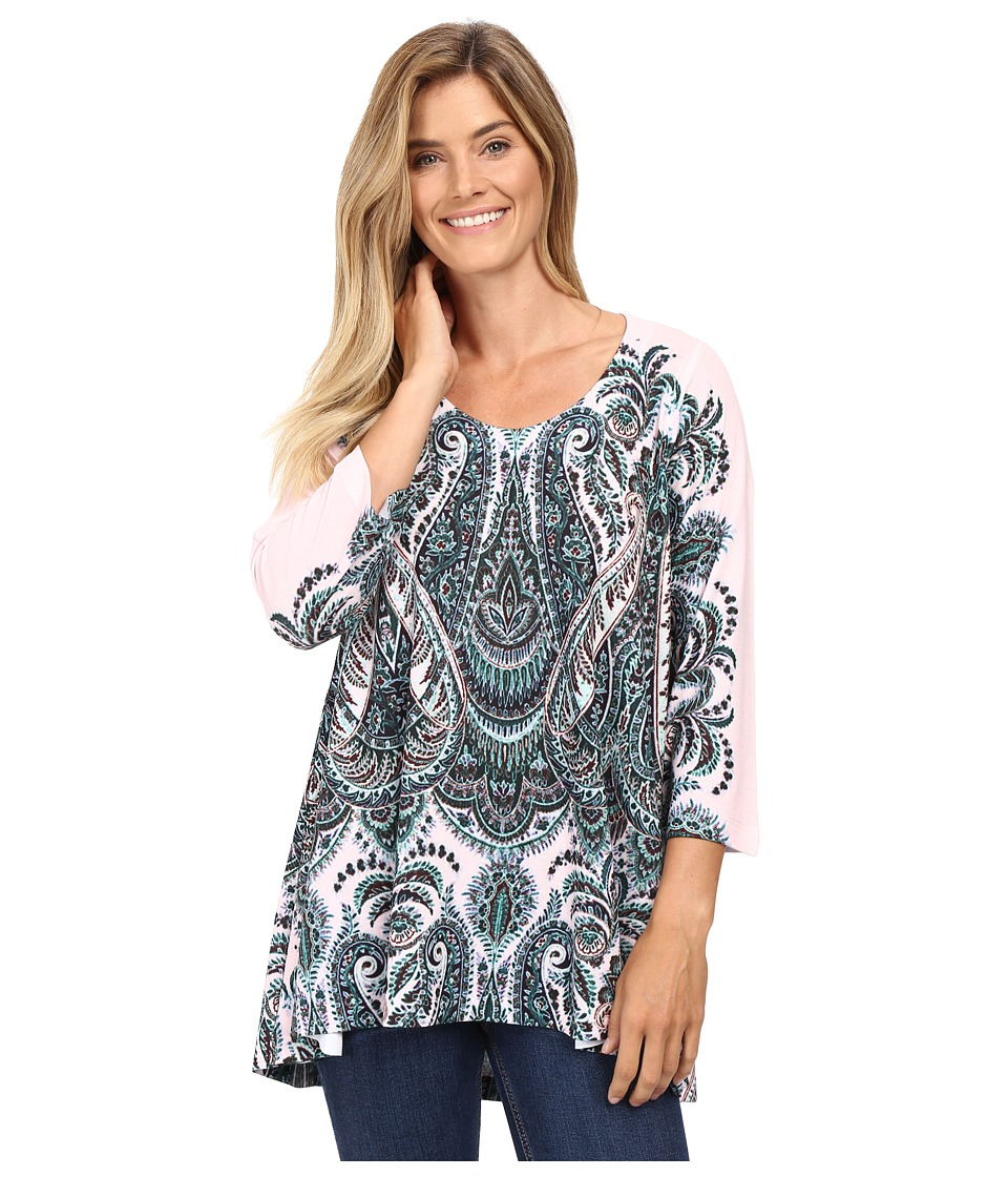 Nally & Millie - Paisley Print Tunic (Multi) Women's Blouse