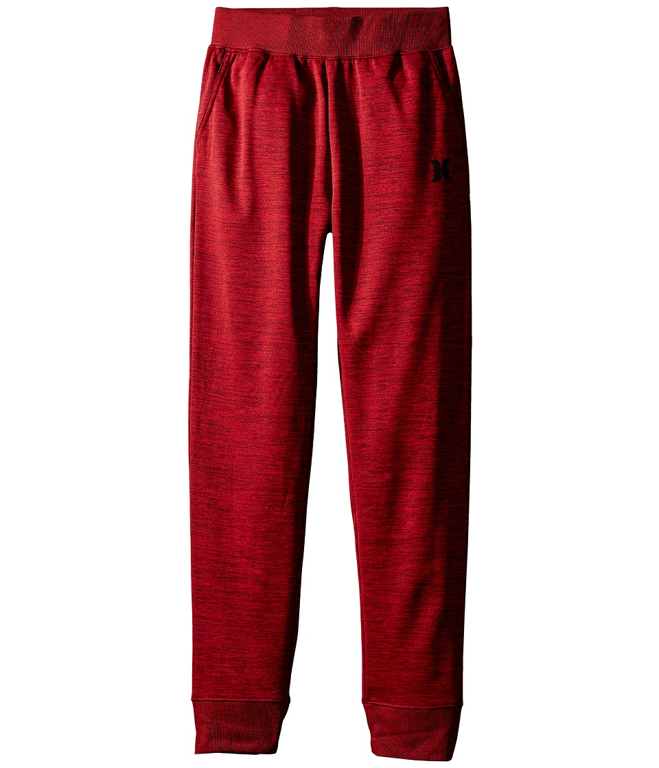 Hurley Kids - Drifit Pants (Big Kids) (Night Maroon Space Dyed Heather) Boy's Casual Pants