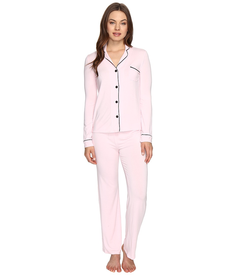 P.J. Salvage - Be Love PJ Set with Eyemask (Blush) Women's Pajama Sets