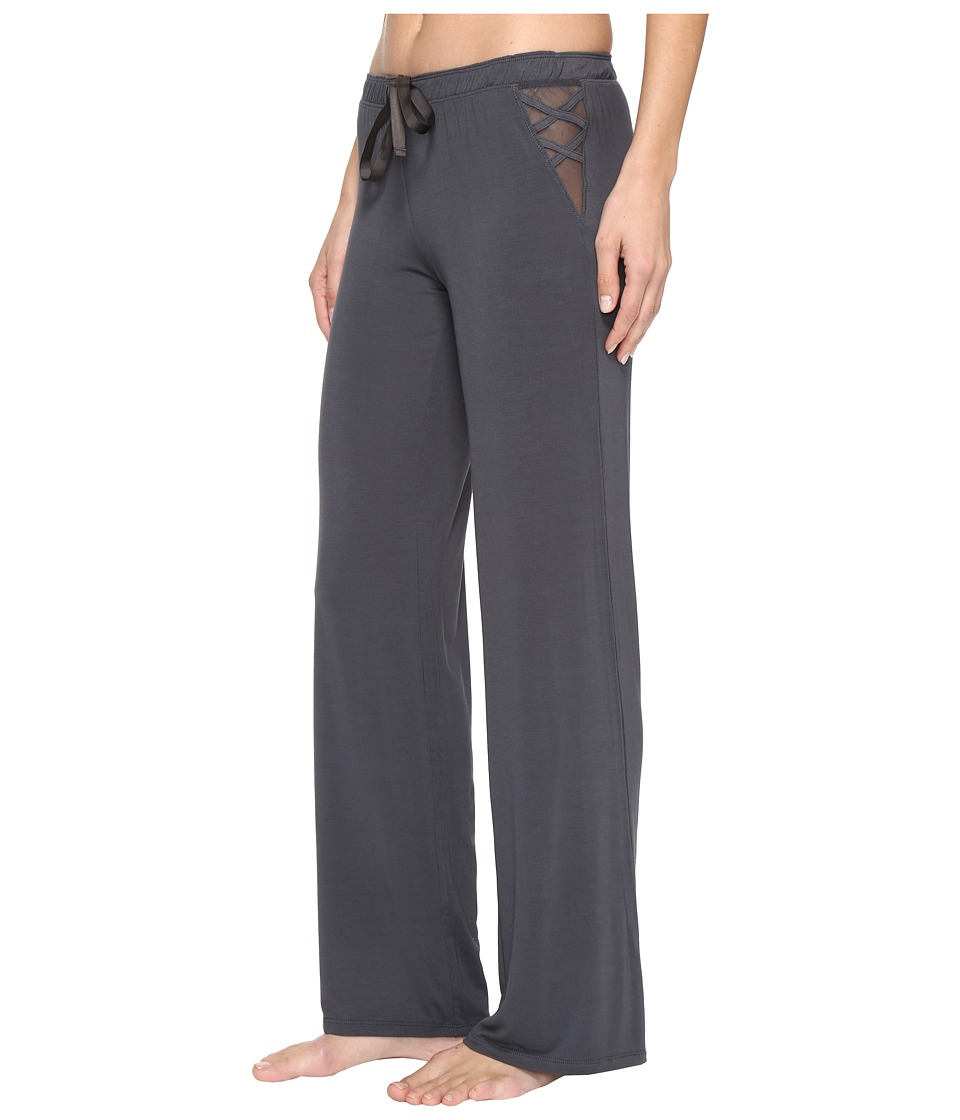 P.J. Salvage - All Tied Up Lounge Pants (Charcoal) Women's Pajama