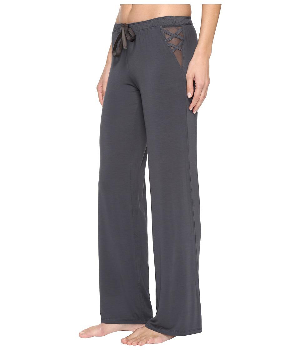 P.J. Salvage - All Tied Up Lounge Pants (Charcoal) Women's Pajama