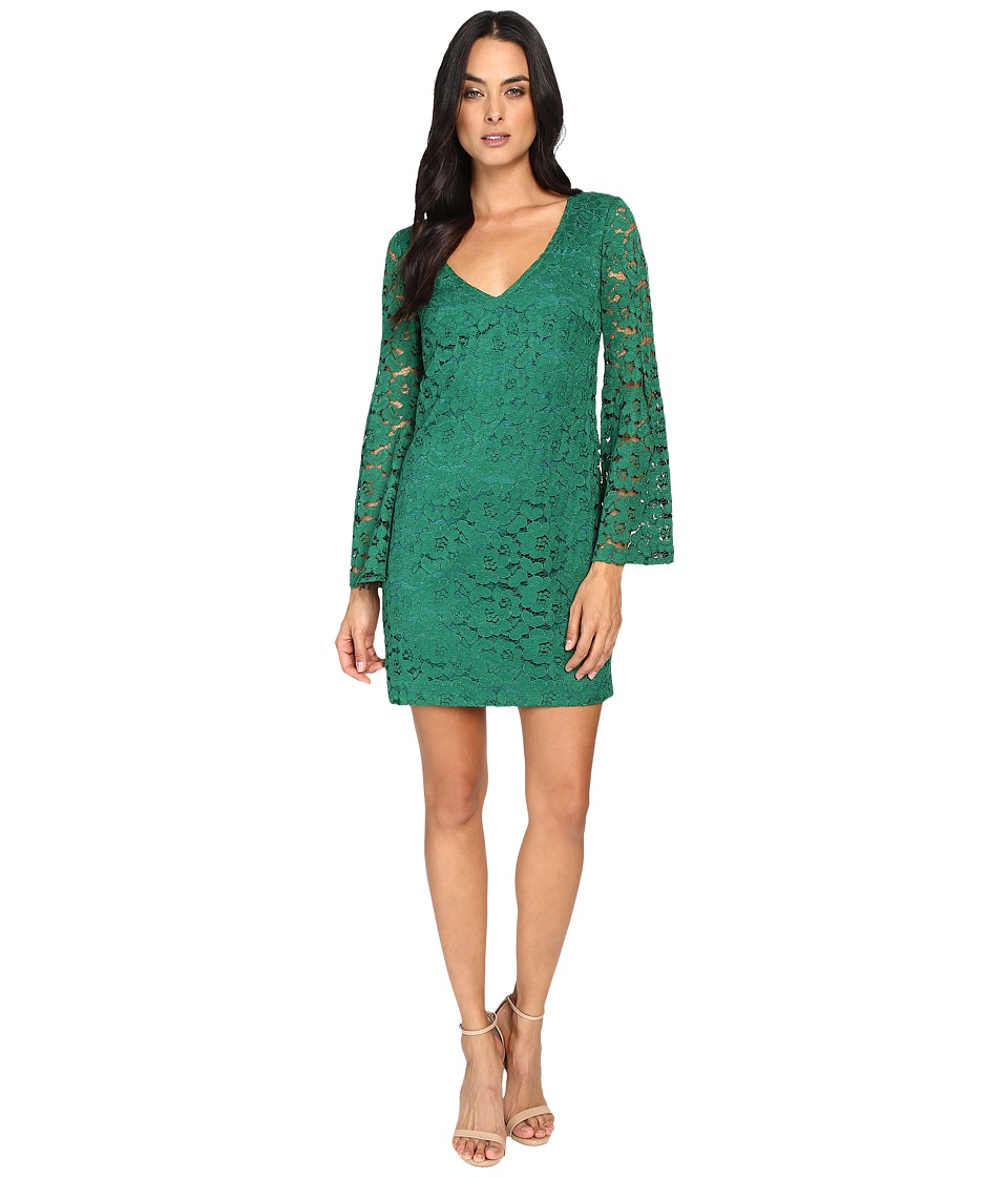 Trina Turk Revue Dress (Emerald) Women