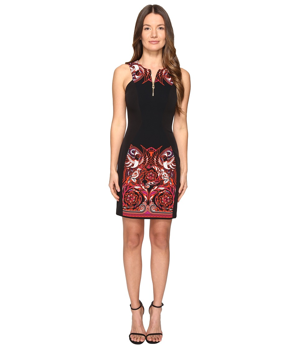 Versace Collection Woven Dress (Nero/Stampa) Women